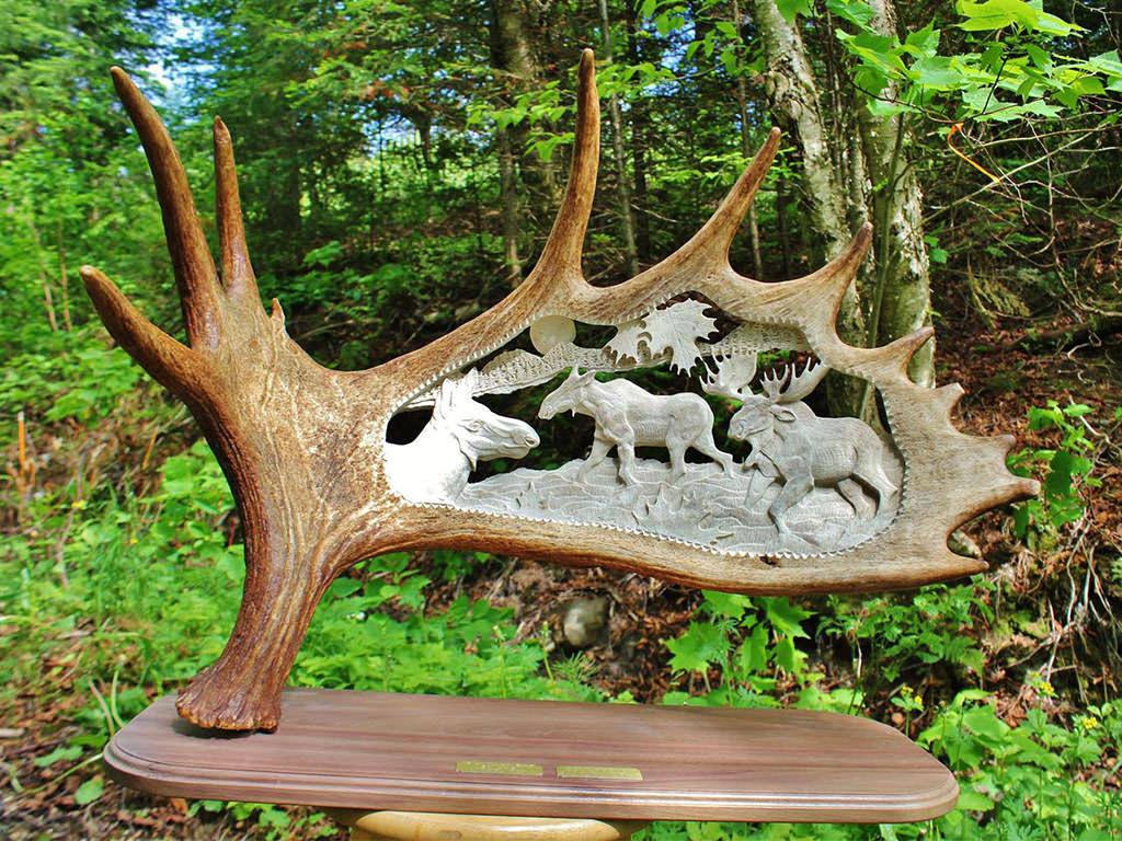 sculpture sur panache